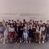 游戏设计班组织课外活动,参观龙美术馆